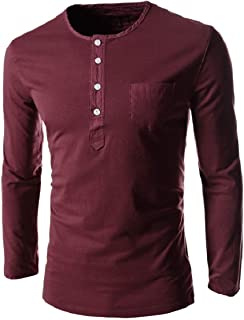 Highisa Mens Casual Solid Oversized Mock Neck Long-Sleeve Knit Sweater