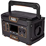 Klein Tools KTB5 Power Bank, USB-A, USB-C and AC Portable Power Station, High Capacity, 546 Wh