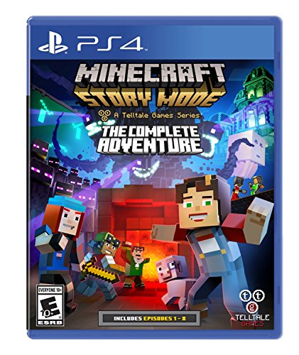 Minecraft: Story Mode The Complete Adventure – PlayStation 4 – Standard Edition