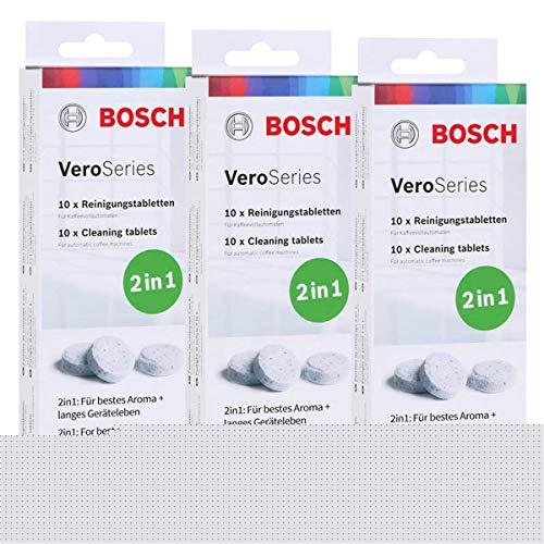 Bosch VeroSeries TCZ8001 Reinigungstabletten 2in1-10 Tabletten (3er Pack)