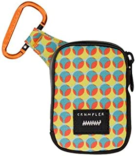 Crumpler The Tuft (S) Camera Pouch - Limited Edition - Light Blue Dot/Orange