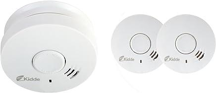2 x Kidde – 10y29 – Alarma de humo fotoeléctrico óptico de 10 años (vida