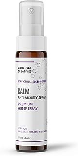Madrigal Nano Oil Hemp Calm Spray, Anxiety Relief, Soothing and Calming, Sleep Aid: Hemp Extract Grown & Made in USA - Tas...