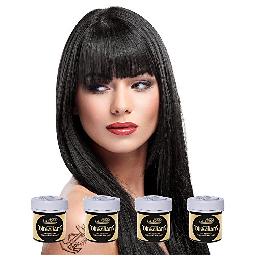 La Riche Directions Haarfarbe 4 Pack (Ebony - Ebenholz)