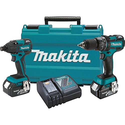Makita XT248 18V LXT Lithium-Ion Brushless Cordless 2-Pc. Combo Kit (3.0Ah) (Discontinued by Manufacturer)