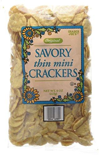 Trader Joe's Original Savory Thin Mini Crackers 8oz(227g)