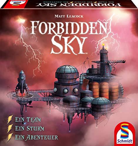 Schmidt Spiele 49348 Forbidden Sky, 3D Strategiespiel, bunt