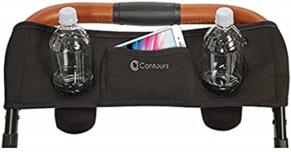 Contours Parent Console Accessory for Contours Double Strollers, Black