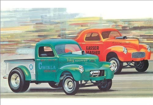 1940 Willy's Coupe Pickup by AMT Ertl