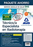Paquete Ahorro Técnico Especialista en Radioterapia del Servicio Andaluz de Salud. Ahorro de 91 € (Incluye Temario común y test; Temario específico ... Simulacros de examen y acceso Campus Oro)