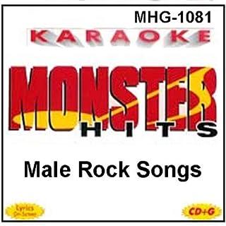 Monster Hits Karaoke #1081 - Male Rock Songs
