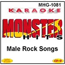 Monster Hits Karaoke #1081 - Male Rock Songs