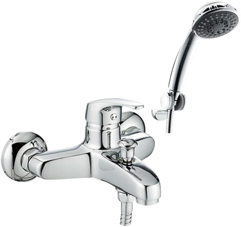 Wall Mounted Bathroom Shower Bath Shower Mixer Bathroom Shower Set-A