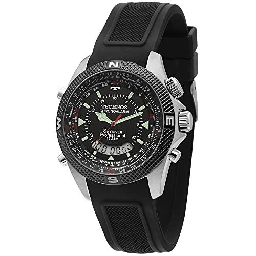 Relógio Technos Masculino Skydiver Prata - T205FH/8P