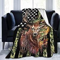 着る毛布, 鹿 あったか ブランケット 柔らかい マイクロファイバー 200*150cm オールシーズン メンズ 女の子 冷房対策 オフィス用