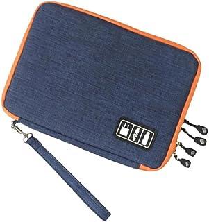 XIWUYA Bolsa protetora de armazenamento para carregador, iPad, bolsa de armazenamento portátil