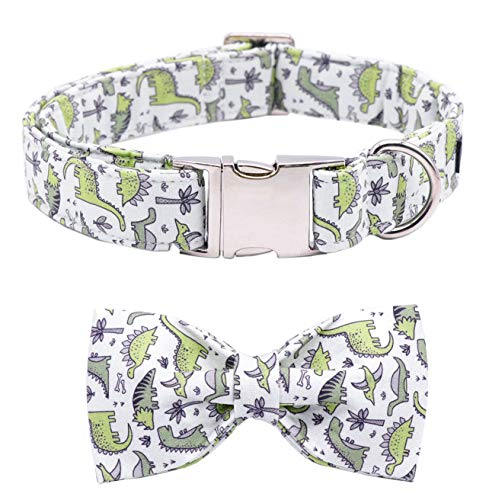 ARING PET Bowtie Dog Collar, Dog Collar with Bow, Adjustable Collars for Small Medium Large Dogs