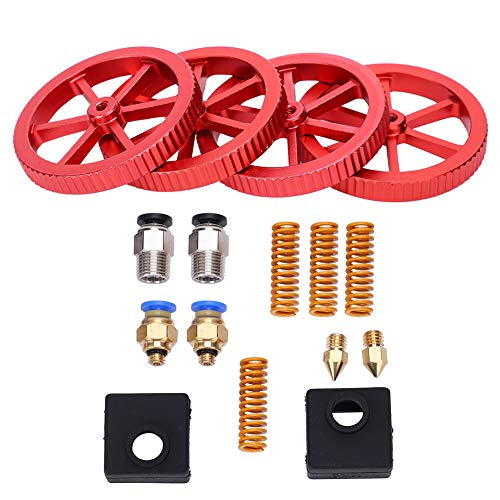 Extruder Upgrade Kit Handing Red 3D Printing Kit Convenient Using 3D Printer Kit for 3D Printing
