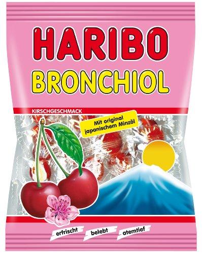 Haribo Bronchiol Kirsch, 5er Pack (5 x 100 g Beutel)
