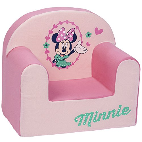 Babycalin Sessel Poltrona, Disney Minnie, Rosa, Assise 25 cm