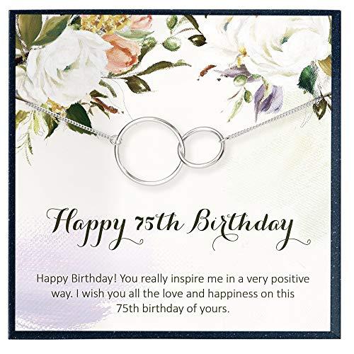 75th Birthday Necklace