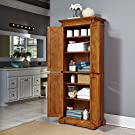 Americana Distressed Oak Pantry by Home Styles #1