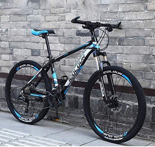 26' 24-Speed Mountain Bike for Adult, Lightweight Aluminum , Disc Brake