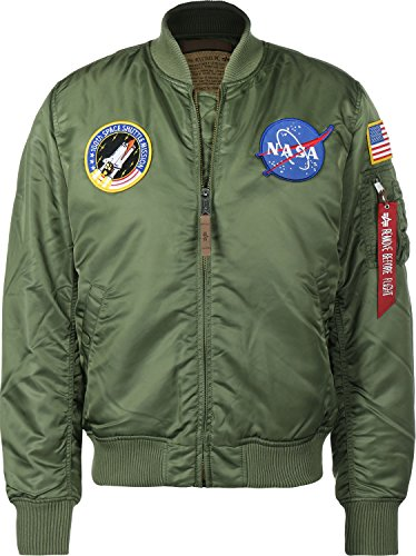Alpha Industries MA-1 VF NASA Jacke Oliv XXL
