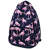 NGIL Flamingo Tennis Racquet Holder Backpack