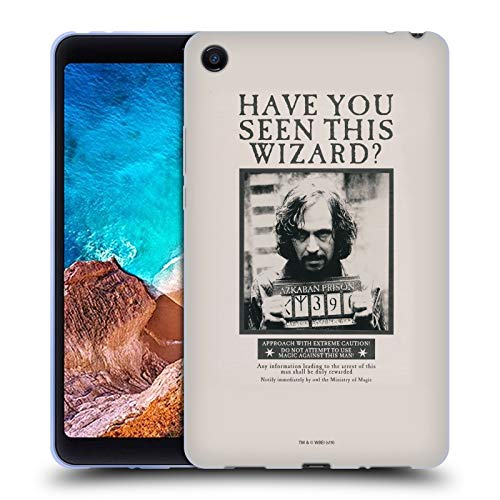 Head Case Designs Ufficiale Harry Potter Sirius Black Poster Prisoner of Azkaban II Cover in Morbido Gel Compatibile con Xiaomi Mi Pad 4
