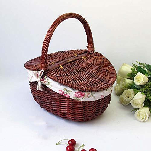 CAISHEND Wiederverwendbare Ineinander greifen-Organisator (Multipurpose, beweglicher Einkauf Tote Handtasche) für Lebensmittel, Außenraum, Frucht-Gemüse,M