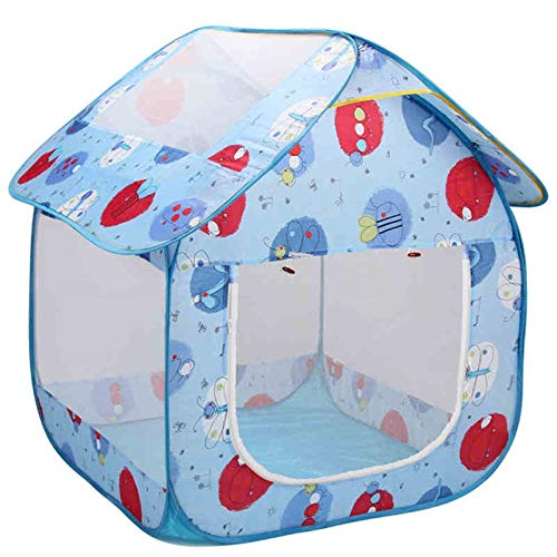 tents Cartoon Play, Ultra-light Folding Ball Pool Baby's Play House For Indoor Picnic Playhouse For Kids Marine Ball Pool(Size:107 * 104 * 113cm)