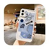 Coque de téléphone en TPU pour Huawei Honor 30s 8X 8A 8C 7A Mate 30 20 P40 P30 P20 Pro Nova 6 7 SE...