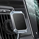 Magnetic Car Phone Holder Mount,[2021 Upgraded Clip] LISEN Stable Phone Car Vent Mount [6 Strong Magnets] Cell Phone Holder for Car iPhone Unobstructed Car Holder Compatible with 4-6.7 Phones, Tablets