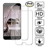 [2 pack] guran® pellicola protettiva ultra resistente in vetro temperato per meizu pro 6 plus smartphone ultra sottile screen protector film