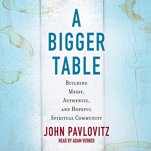 A Bigger Table audiobook cover art