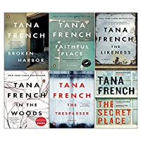Dublin Murder Squad Series Books 1 - 6 Collection Box Set by Tana French (In The Woods, The Likeness, Faithful Place, Broken Harbour, Secret Place & The Trespasser) 1529379172 Book Cover