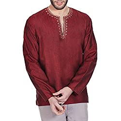 Unique linen 4th anniversary gifts for men - Kurta