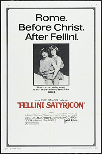 "Satyricon (1969) ""Fellini - Satyricon"" (Original Title) Movie Poster 24x36"