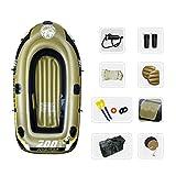 RHSMW Kayak Inflable, Bote De Pesca De Bote De Goma Bote De Deriva Inflable Kayak Engrosado Adecuado para La Pesca Kayak De Deportes Acuáticos