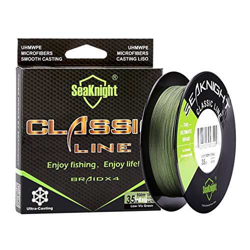 Enature Braided Fishing Line, 300m Superbraid Fishing Line, Abrasion...