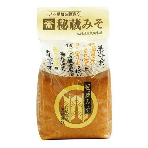 厳選味噌 山高『秘蔵みそ』1kg 秋田県産白目丸大豆・コシヒカリ米・八ヶ岳天然水使用