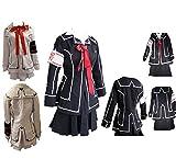 Vampire Knight Cosplay Costume Yuki Cross White Black