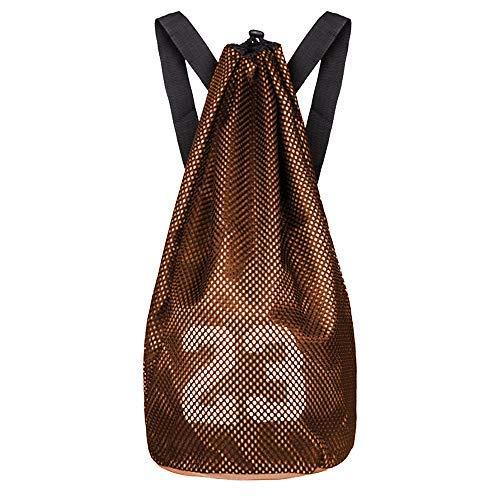 ALIXIN - 23. Mochila de baloncesto para gimnasio, deporte, con bolsillo grande con cremallera para adolescentes y adultos