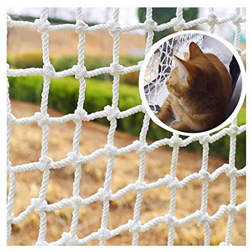 Multi-size Cat Climbing Net Safe Net Protective Net For Balcony & Window,White Safe Net Balcony Protection Net Child Protection Net (Color : 3cm Mesh, Size : 3 * 10M)