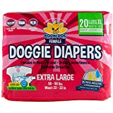 Best Dog Diapers - Disposable Dog Female Diapers | 20 Premium Quality Review