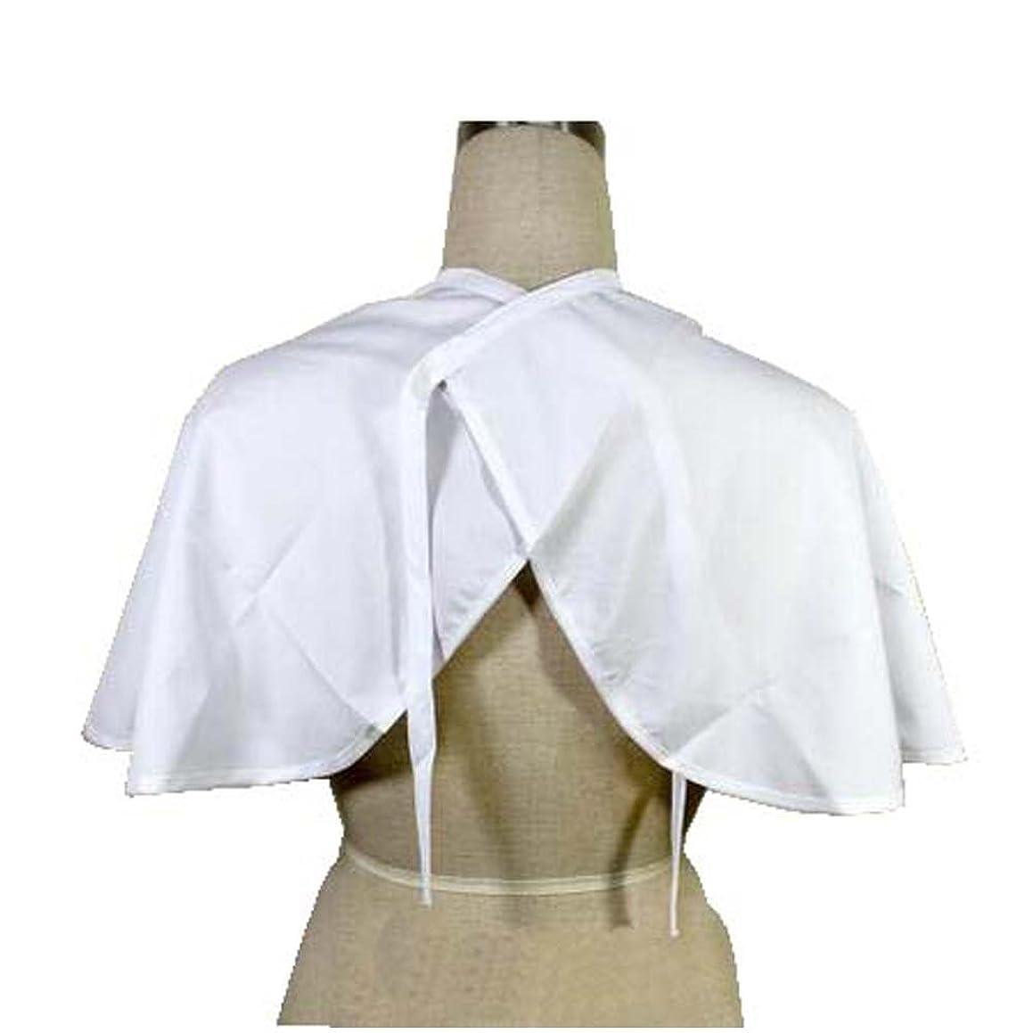 脚本カビ熱狂的なクライアントのプロフェッショナルサロンクライアントドレスショート布、ヘアーサロンスモック