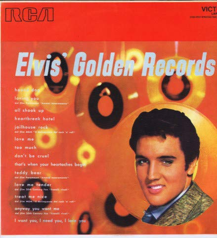 Elvis` Golden Records (12