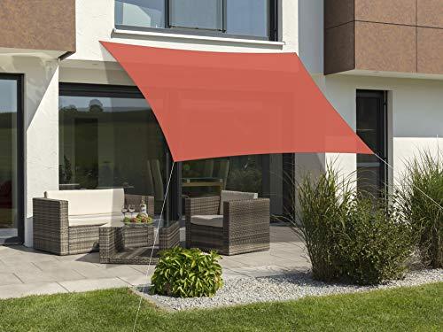 Schneider-Schirme Teneriffa 360 x 360 cm Toldo, Unisex Adulto, Terracota