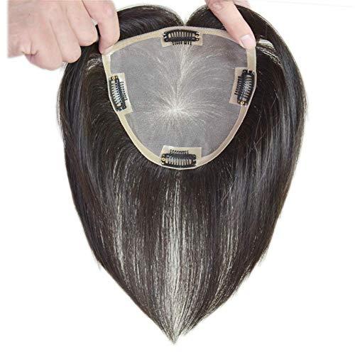 Sexy Lady Full Wig Stack Les Morceaux de Cheveux Humains, 4,7 'x 4,7', 12 'Mono Crown Vanity Postiches